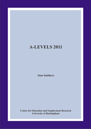 A-Levels 2011 Annual Report
