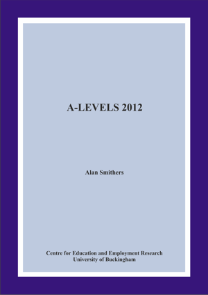 A-Levels 2012 Annual Report