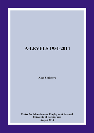 A-Levels 1951-2014 Annual Report