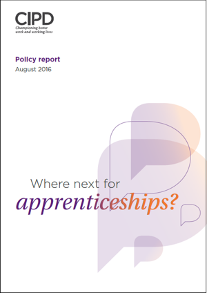 Where Next for Apprenticeships 2016 Report