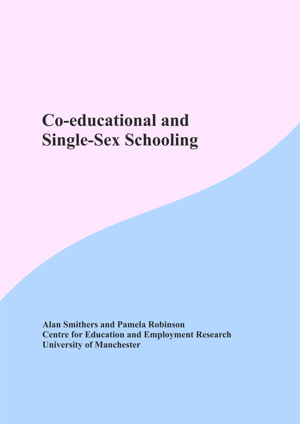 Archive Report - Co-educational and Single-Sex Schooling