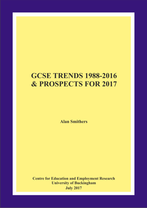 GCSE Trends 1988-2016 and Prospects for 2017 Annual Report