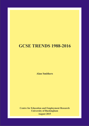 GCSE Trends 1988-2016 Annual Report