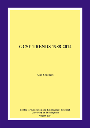 GCSE Trends 1988-2014 Annual Report