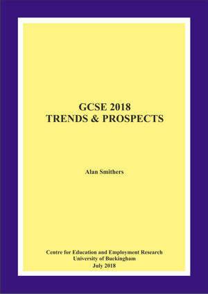 GCSE 2018 Trends and Forecast Annual Report (PDF download)