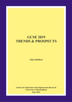 GCSE 2018 Trends and Prospects Annual Report