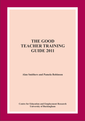 The Good Teacher Training Guide 2011 Report