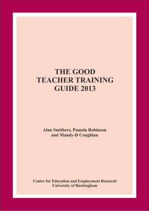 The Good Teacher Training Guide 2013 Annual Report