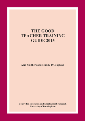 The Good Teacher Training Guide 2015 Annual Report