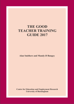 The Good Teacher Training Guide 2017 Annual Report