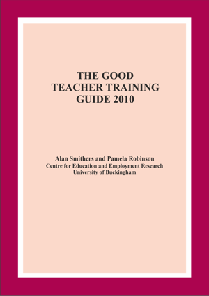 The Good Teacher Training Guide 2010 Annual Report