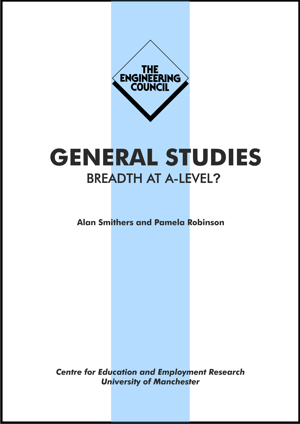 General Studies Breadth at A-Level? Report