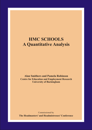 HMC Schools: A Quantitative Analysis Report