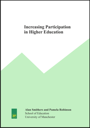 Increasing Participation in Higher Education Report