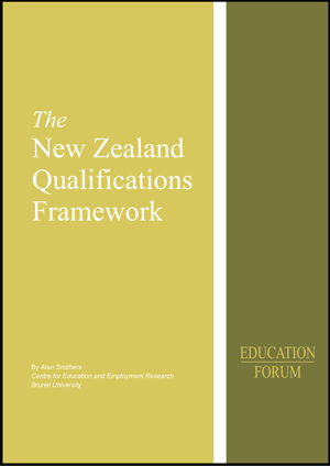 New Zealand Qualifications Framework Report