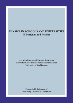 Physics in Schools and Universities II: Patterns and Policies Report