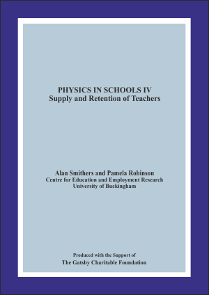 Physics in Schools IV: Supply and Retention of Teachers