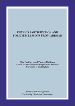 Physics Participation and Policies: Lessons From Abroad Report