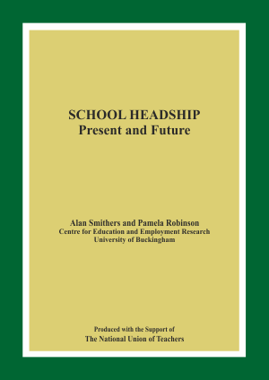 School Headship: Present and Future Report