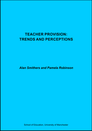 Teacher Provision Trends and Perceptions Report