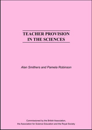 Teacher Provision in the Sciences Report