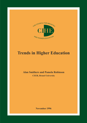 Trends in Higher Education Report