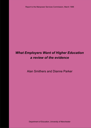 What Employers Want of Higher Education Report